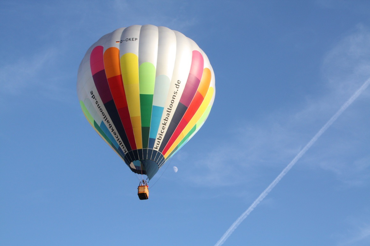 Ballonfahrt über Franken in kleinen Gruppen